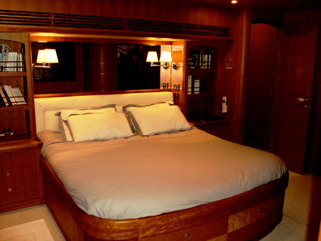 Yacht SILVER FOX -  Master Cabin