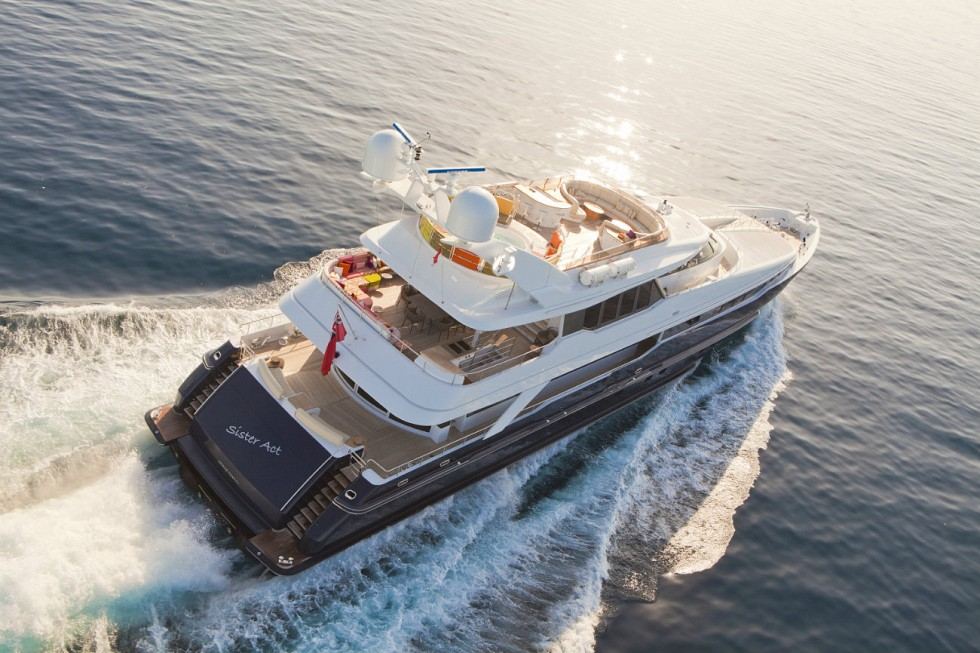Yacht SISTER ACT -  Aft View