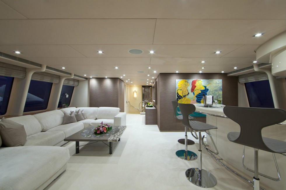 Yacht SISTER ACT -  Skylounge and Bar