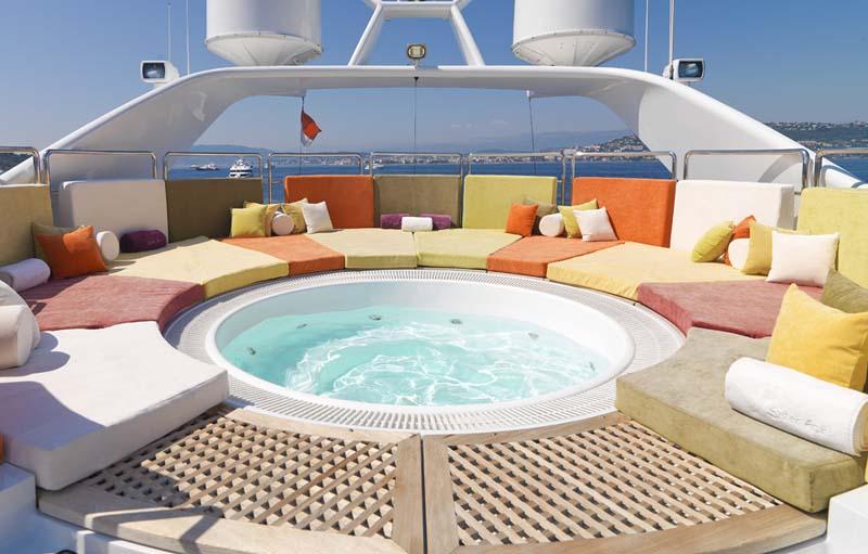 Yacht SISTER ACT -  Sundeck Spa Pool