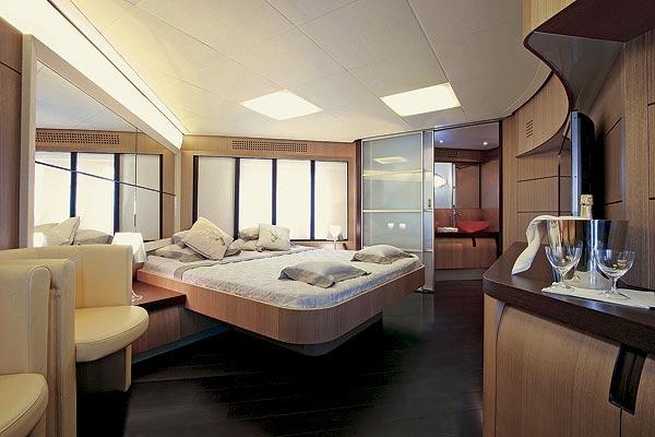 Yacht SOLARIS -  Master Cabin
