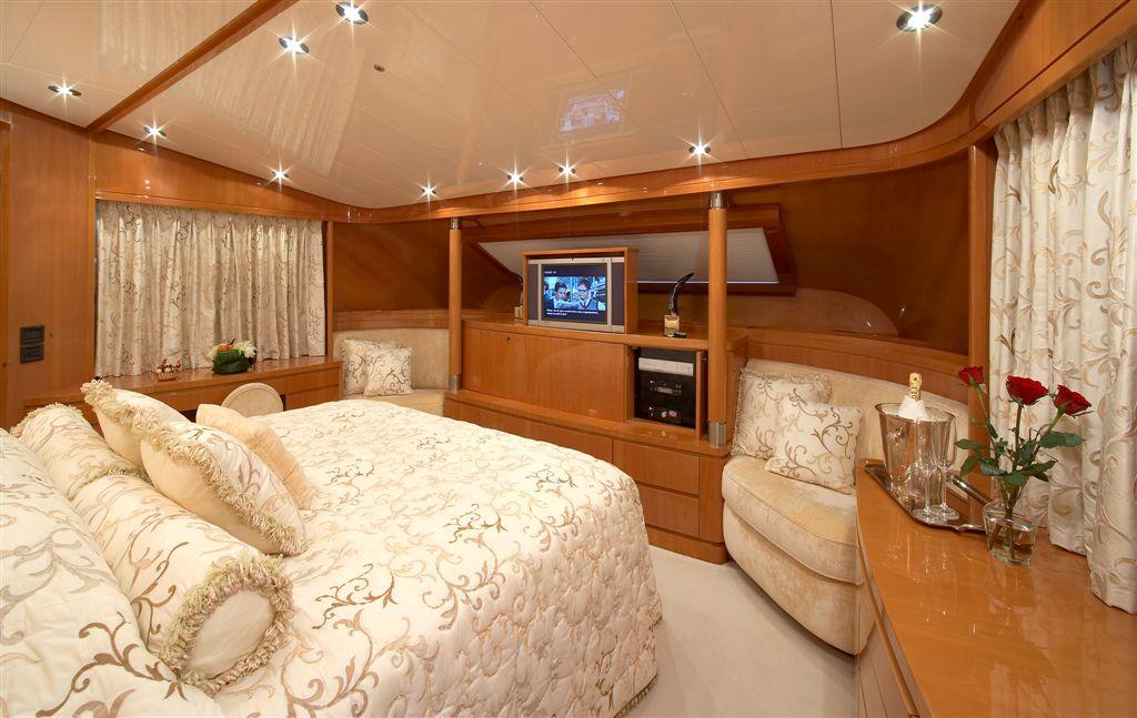 Yacht SOLONA -  Master Cabin