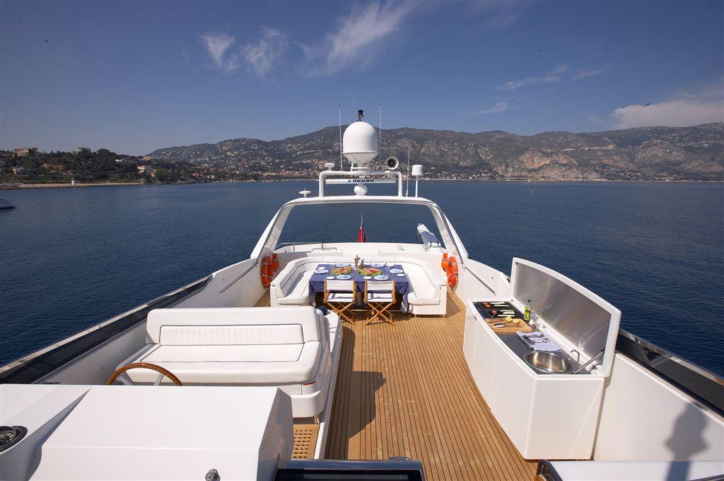 Yacht SOLONA -  Sundeck