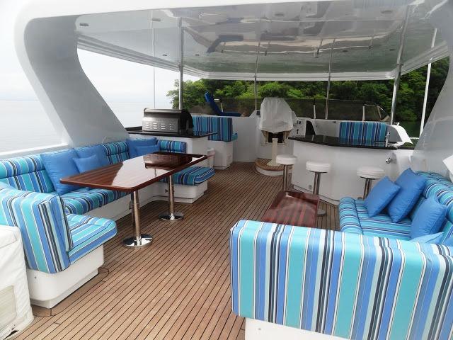 Yacht SOLSTICE I -  Flybridge