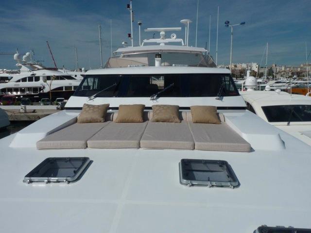 Yacht SUNLINER X -  Forward Sunpads