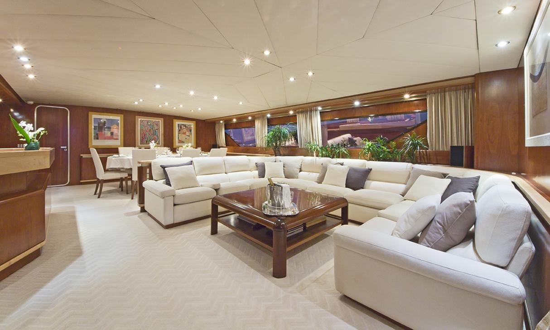 Yacht SUNLINER X -  Main Salon 2