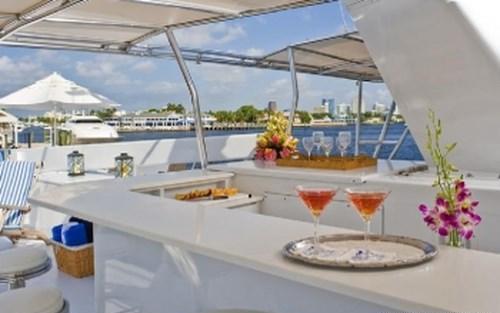 Yacht SYRENE -  Sundeck Bar
