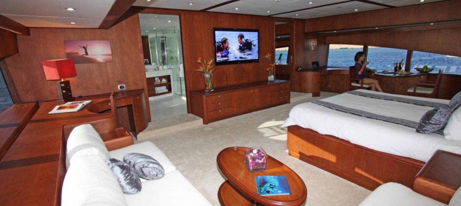 Yacht Seven Spices - Master stateroom