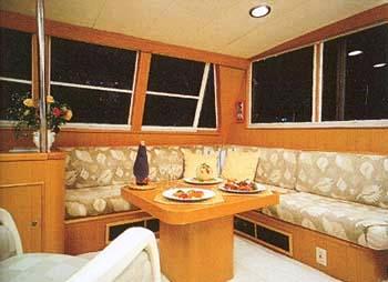 Yacht TAZA MAS -  Upper Salon