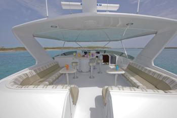 Yacht TEMPTATION - Flybridge