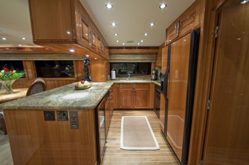 Yacht TEMPTATION - Galley