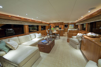 Yacht TEMPTATION - Main Salon