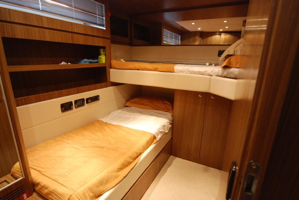 Yacht TEONE - Twin Cabin