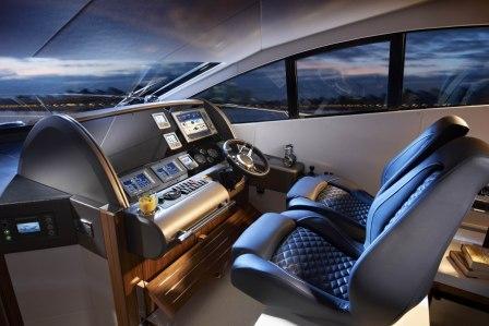 Yacht THE VAN -  Helm