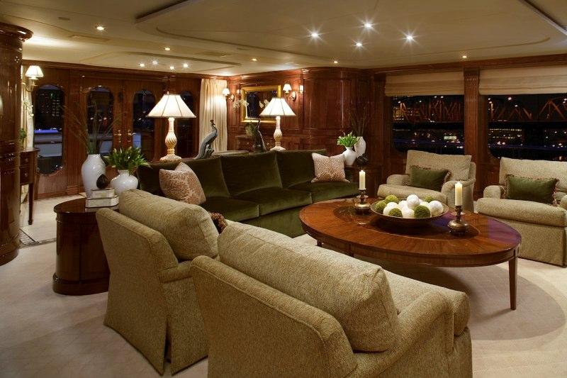 Yacht TOP FIVE -  Main Salon