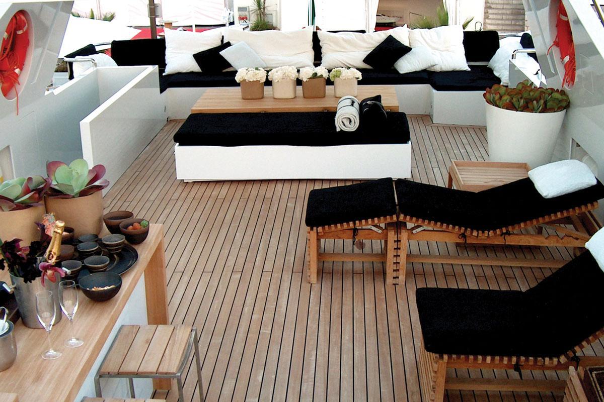 Yacht TROPICANA -  Sundeck