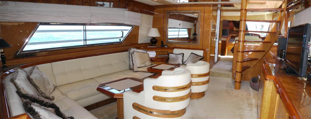 Yacht The Bridge -  Main Salon