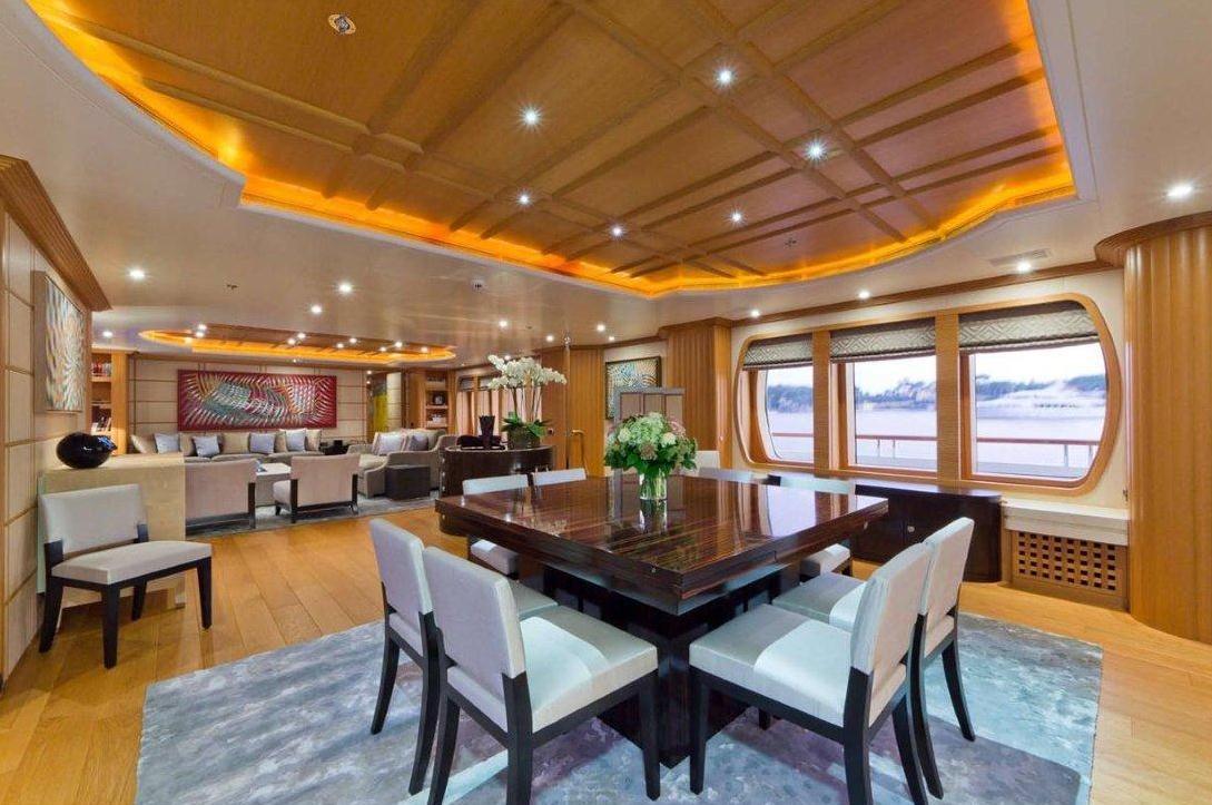 Yacht Troyanda -  Dining Area