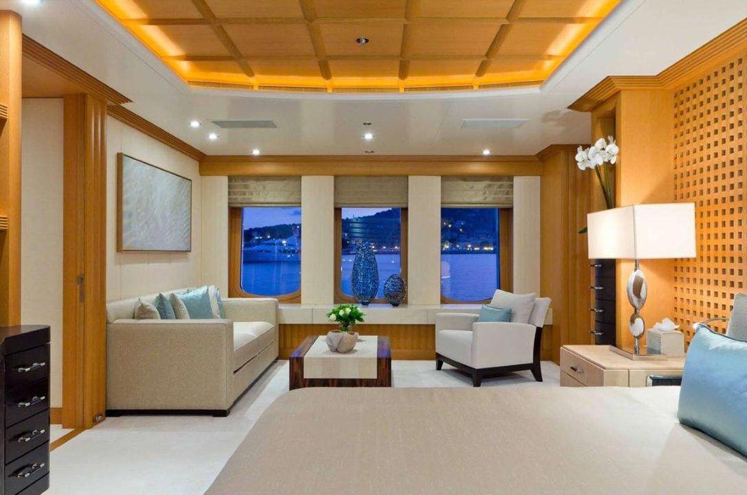 Yacht Troyanda -  Master Cabin