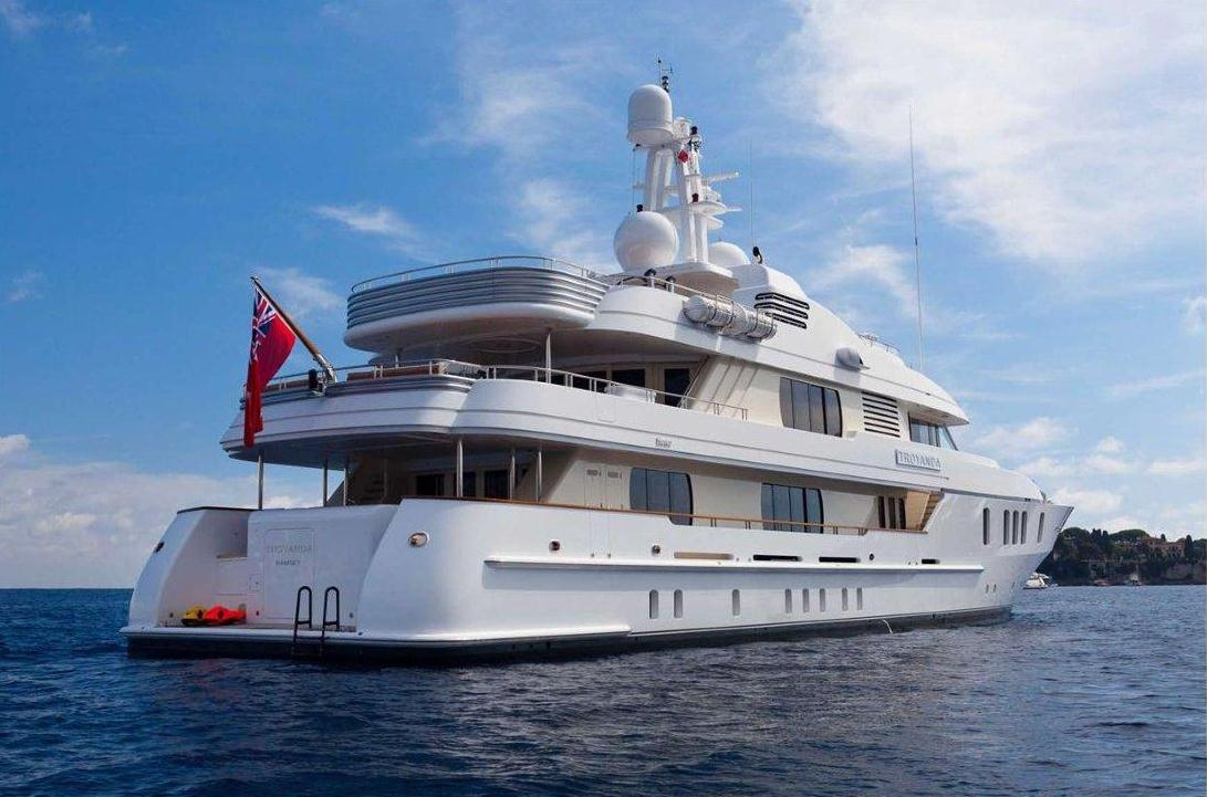Yacht Troyanda -  Stern View