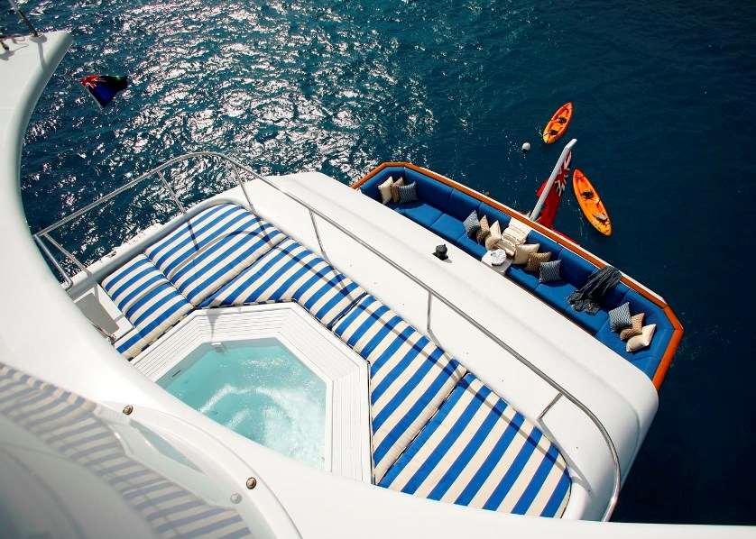 Yacht VICTORIA DEL MAR - View from above