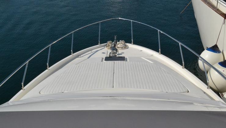 Yacht VIVA -  Bow