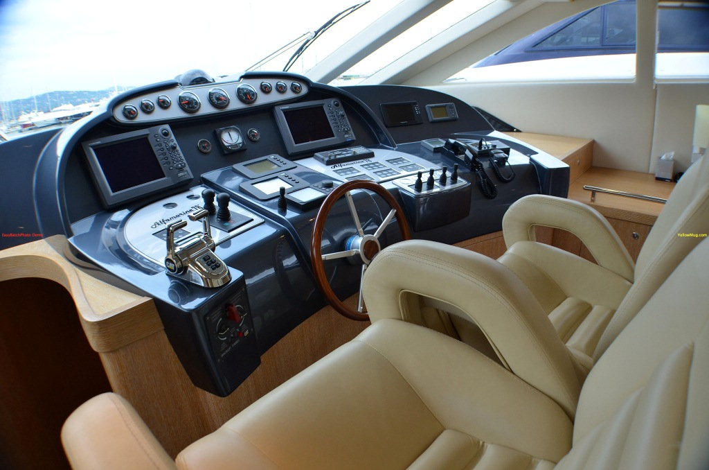 Yacht WELL DONE -  Helm