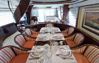Yacht WISH -  Dining
