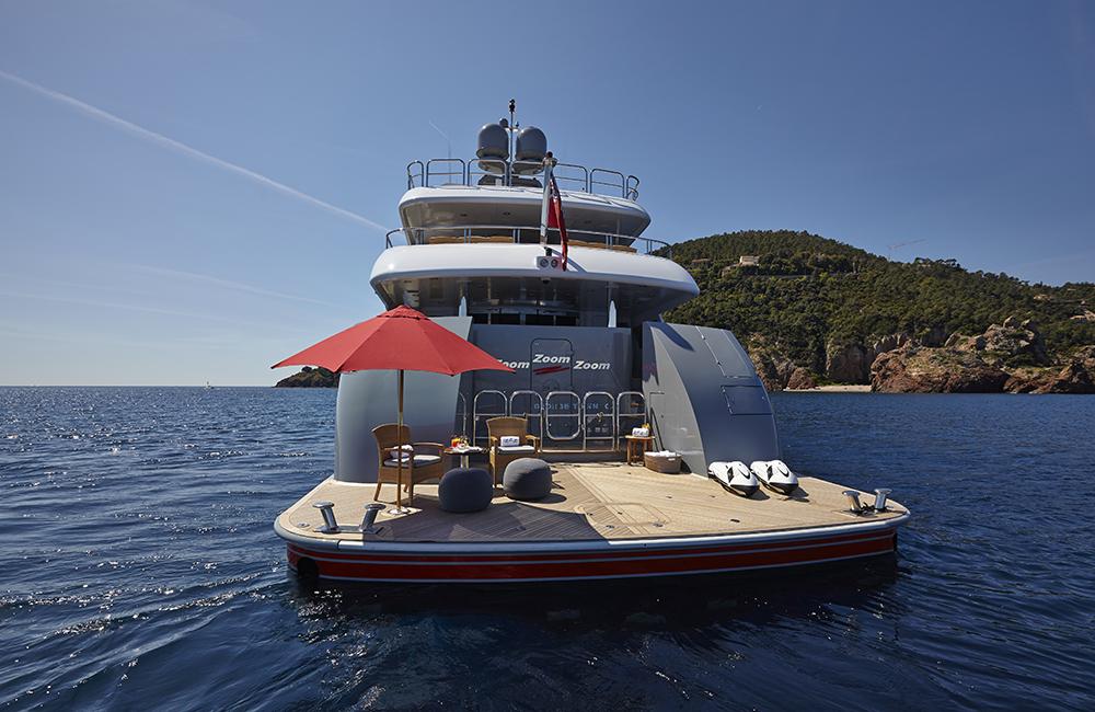 Yacht ZOOM ZOOM ZOOM -   Swom Platform 2