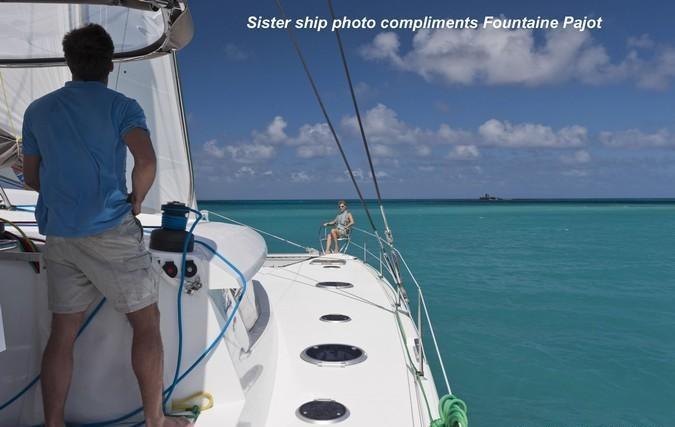ZIMAYA - Starboard side deck