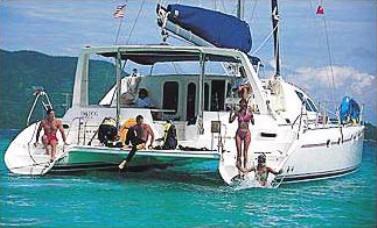 Leopard 4500 Yacht Charter Details Leopard 45ft Catamaran