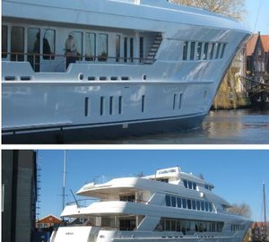 Superyacht MIRGAB VI launched by Hakvoort.