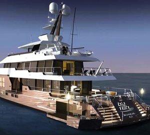 Charter Luxury yacht BIG FISH in Antarctica.