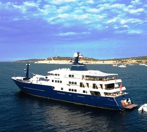 The biggest & Best Luxury Explorer or Expedition Yachts Available for Charter around the World