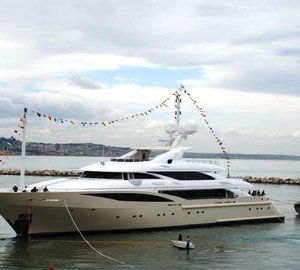 Superyacht ISA 630 launched by ISA Yachts
