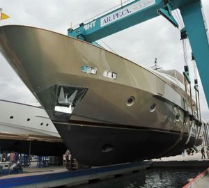 Sanlorenzo launches SD92 motor yacht GENIE 2