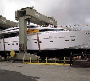 Sanlorenzo, launch SL108 motor yacht DANDY SIX.