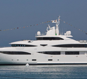 60 metre SuperYacht Mimtee launched by CRN