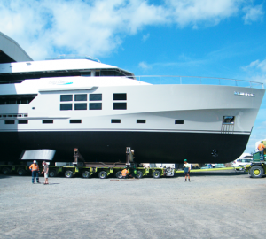 Superyacht BIG FISH Launched in New Zealand