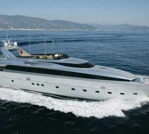 35m superyacht Tamara RD launch & delivered by CNL Yachts