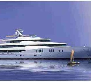 78m motor yacht Titan launched by Abeking & Rasmussen