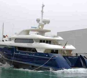 ISA Yachts launch 60m Superyacht Mary-Jean II
