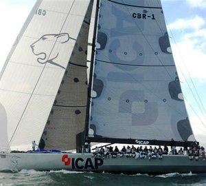 Sailing yacht ICAP Leopard prepares for Transatlantic Record