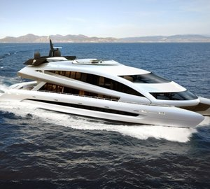 Porsche Design Superyacht Royal Falcon Fleet Catamaran RFF135 to be Launched in Q2 2011