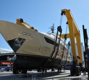 Sanlorenzo Launch Yacht Anastasia M