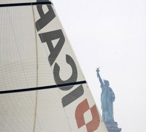 Super-maxi ICAP Leopard to start Transatlantic record attempt.