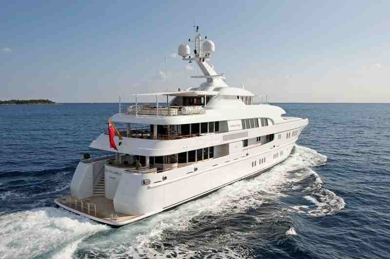 Superyacht Arkley, the 60-metre Lürssen was judged to be the winner of t