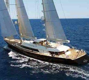 SuperYacht RIELA is Winner of the Best Sailing Yacht Award 2010