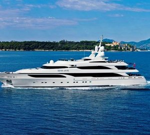 Spectacular 65m Silver Angel ready for Caribbean charter