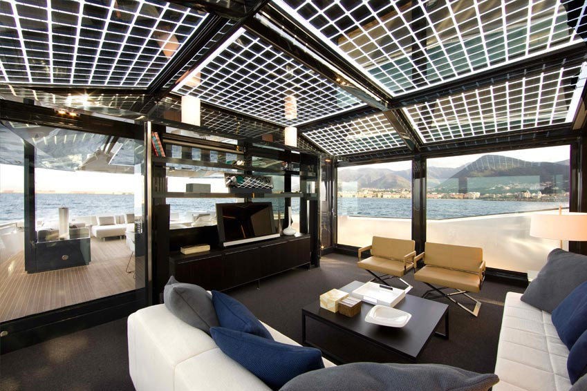arcadia yachts 85 - superyacht solar